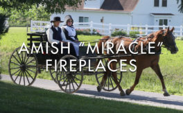 """Amish """"Miracle"""" Fireplaces"""