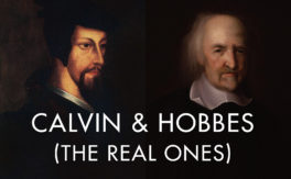 Calvin and Hobbes (the real ones)