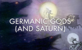 Germanic Gods (and Saturn)
