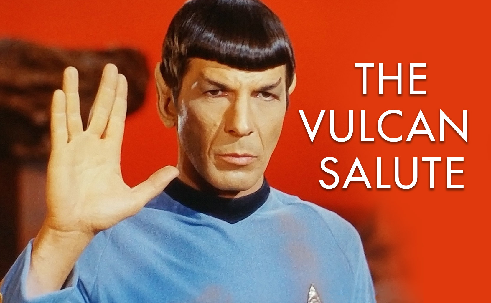 Read more about the article the Vulcan Salute