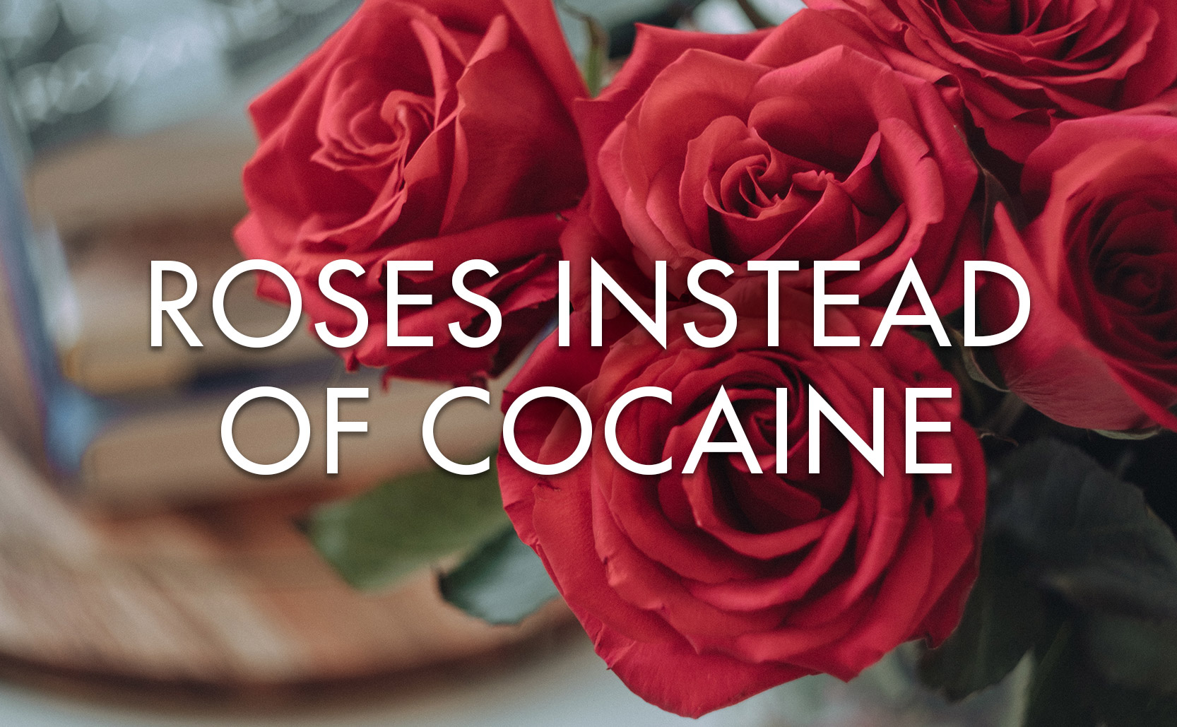 Read more about the article Roses Instead of Cocaine