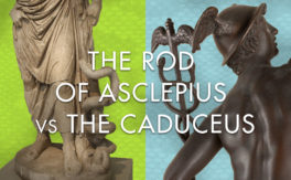 The Rod of Asclepius vs the Caduceus