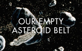 Our Empty Asteroid Belt