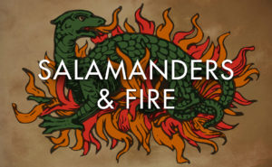salamanders and fire