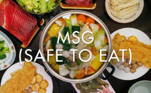 MSG is safe to eat