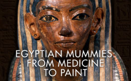 Egyptian Mummies: From Medicine to Paint